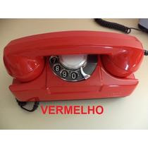 ( Pa.espaçodearte) Telefone Gte Vermelho - Original / Oferta