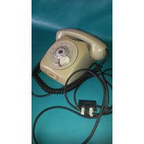 Antigo Telefone De Disco Original Ericsson