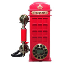 Telefone Vintage Cabine Telefônica Inglaterra-pronta Entrega