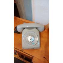 Telefone Disco Ericsson Original Cinza Antigo Retro