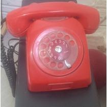 Telefone Ericsson Antigo Anos 70 Vermelho