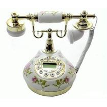 Lindo Telefone Rosa Vintage Antigo Retro Decoração - Oferta
