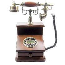 Telefone Puxador Gaveta Vintage Retro Antigo -pronta Entrega