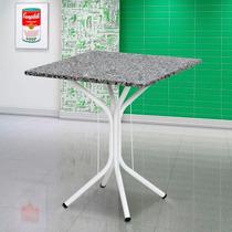 Mesa De Jantar Artefamol Thais + 4 Cadeiras Artefamol