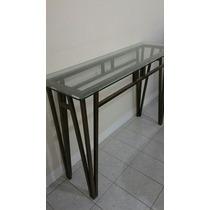 Mesa De Jantar Em Ferro Vidro Com 6 Cadeiras Mesa Em Ferro