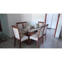 Mesa Jantar Retangular + 6 Cadeiras