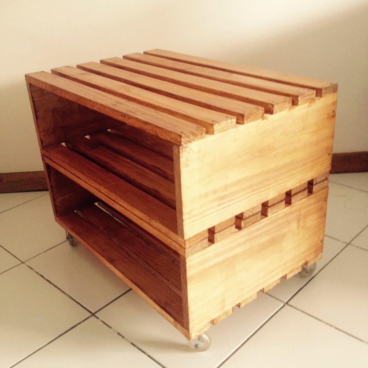 Mesa Lateral Rustica Tipo Caixote De Frutas Madeira De Lei R$ 250 00  #B0761B 1200x1200