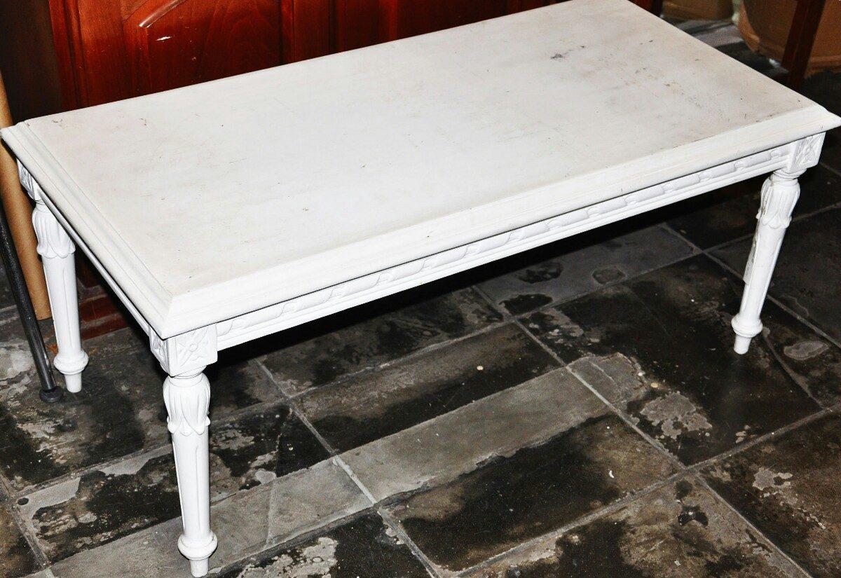 decoracao laca branca : decoracao laca branca:Mesa Luiz Xvi Em Laca Branca . 10 % Desconto. – R$ 500,00 no