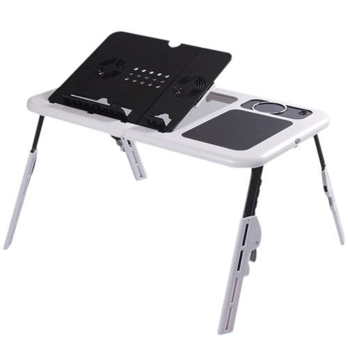 Mesa Para Notebook Dobrável Regulável E-table 2 Cooler Usb