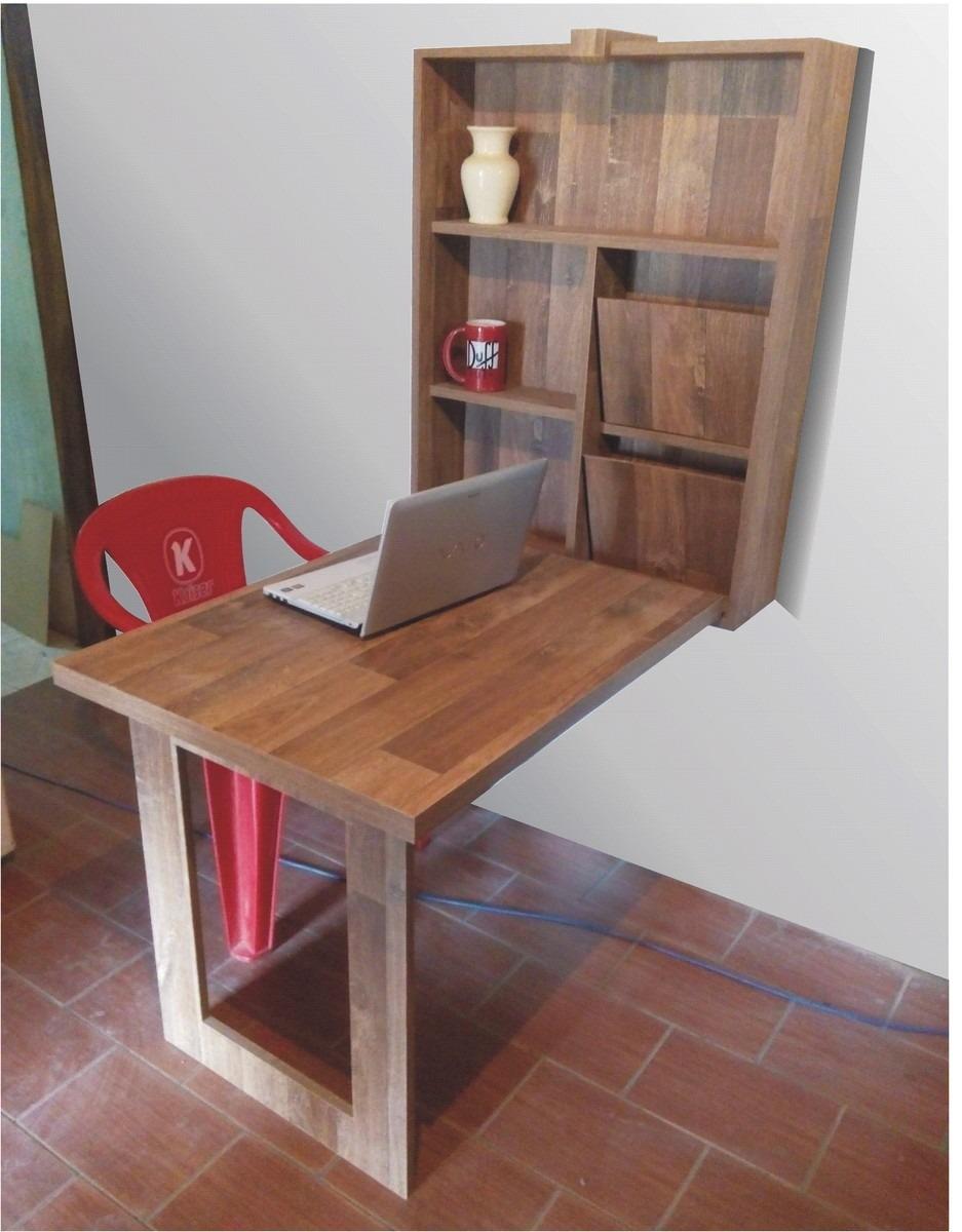 Mesa Em Parede ~ Mesa Retrátil De Parede Com Estante Multi uso R$ 550,00 no MercadoLivre