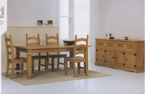 Mesa Rustica , Cadeira , Mesa E Cadeiras,rustico
