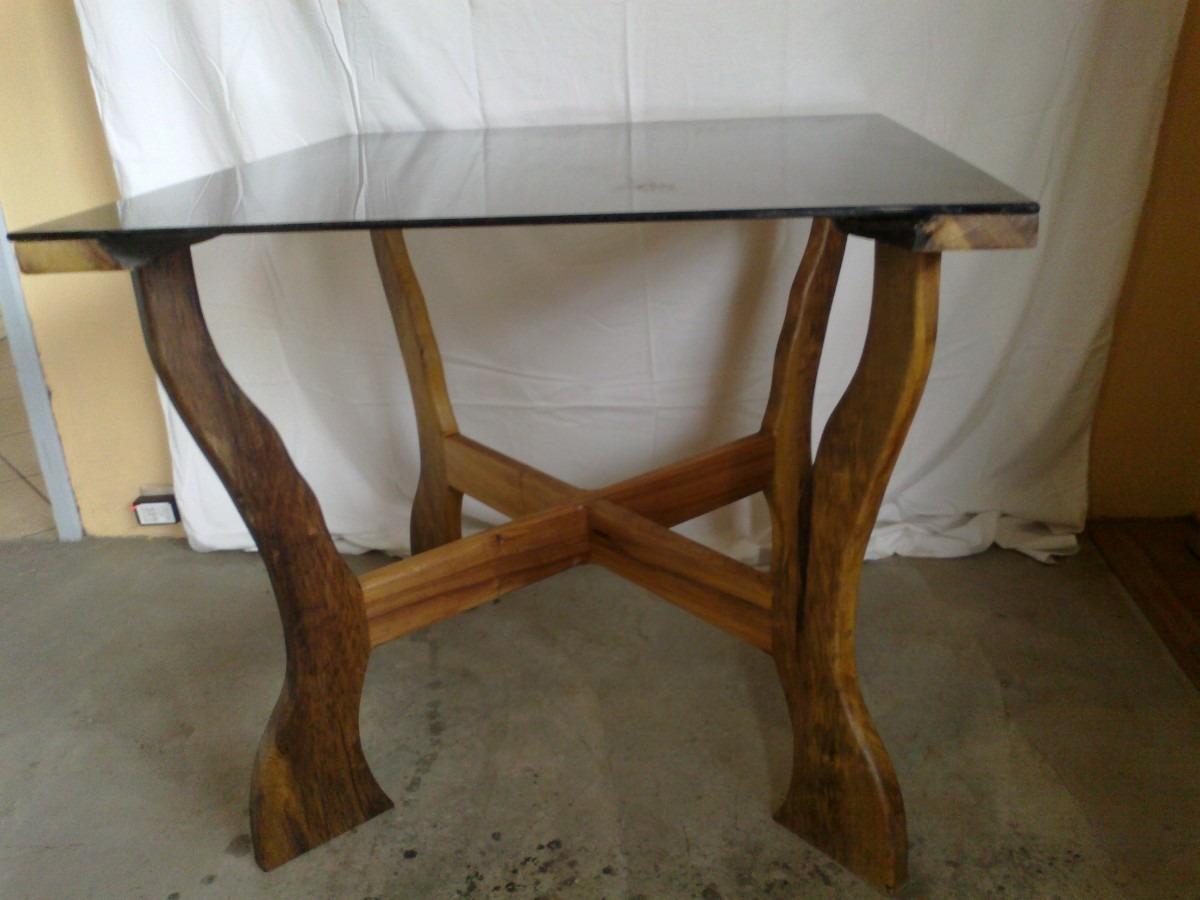 mesa rústica com tampo de vidro #41301B 1200x900