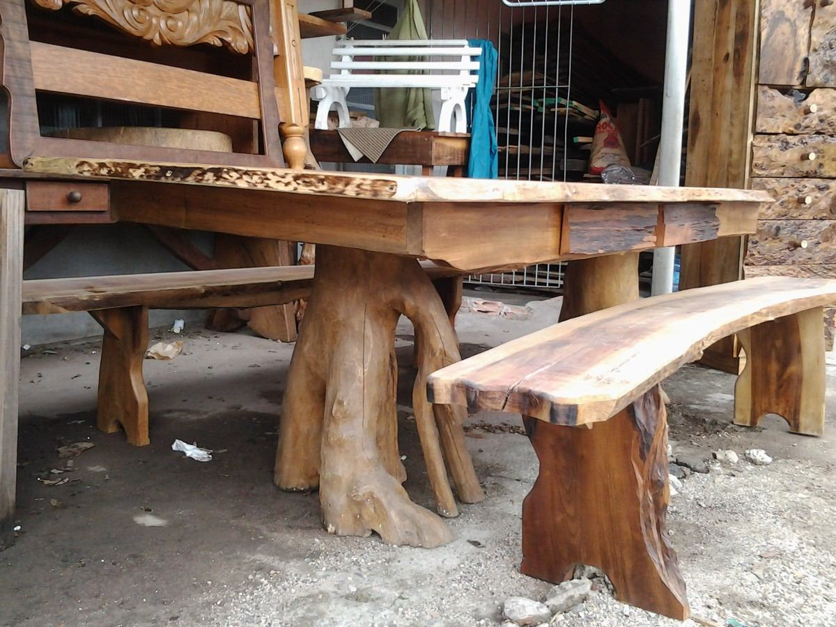 mesa jardim curitiba:Mesa Rústica De Canela – R$ 2.200,00 no MercadoLivre