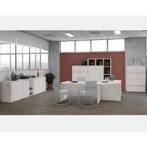 Office Aspen Escritório Completo Mesa Escrivaninha Balcão