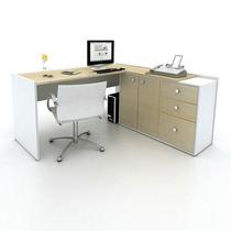 Mesa Em L Sênior Diretora - Móveis Para Escritório