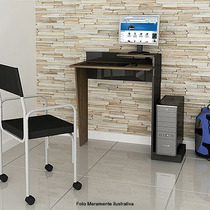 Mesa Compacta P/desktop-laptop Em Mdp Multivisão