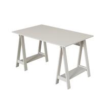 Mesa Escrivaninha Cavalete Em Mdf - Uvim