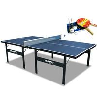 Ping Pong Tênis De Mesa Klopf Oficial + Raquetes Rede Bolas