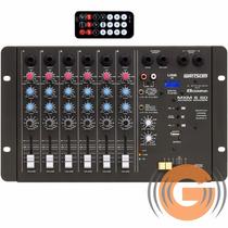 Mesa Som Ciclotron Mxm 6 Sd Wattsom Usb Mp3 - Goiás Musical