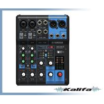 Mesa De Som Yamaha Mg 06x Analógica Com Efeitos Bivolt