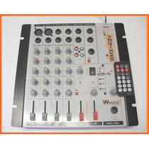 Mesa De Som - Winvox - 4 Canais - 110/220/12v - Com Efeito-