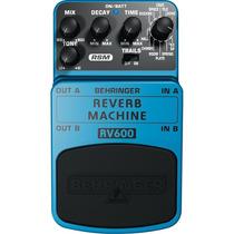 Pedal De Efeito Behringer Rv600 Reverb Machine 3452