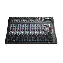 Mesa De Áudio K2 Km 1606 Usb 16 Canais - Saídas Control Room