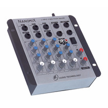 Mesa De Som , Mixer Nanomix Ll Na402r , 4 Canais , Bivolt