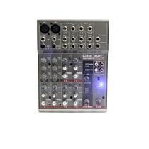 Mesa De Som Phonic Am 105fx Com Efeito 2 Xlr E 4 Estéreo Led