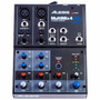 Mesa Mixer 4 Canais Alesis Multimix 4 Usb Mm4usb + Interface
