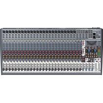 Mesa De Som Sx3242fx Behringer Mixer Eurodesk 32 Canais