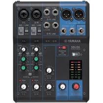 Mesa Yamaha Mg06 Na Studio Som João Loja Física !!