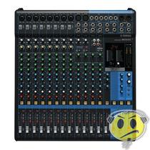 Mesa Som Yamaha Mg16xu Efeitos Compressor Usb 16 Canais