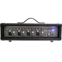 Mesa De Som Amplificada Phonic Powerpod 410 Com 4 Canais