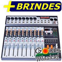 Mesa Som Soundcraft Selenium Sx 1202fx 12 Canais + Efeito
