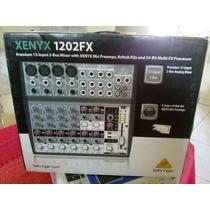 Mesa De Som Behringer Xenyx 1202fx Novo Original 220v