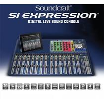 Mesa Digital Soundcraft Si Expression 3 - Na Tocmix Com Nf