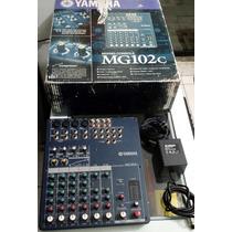 Mesa De Som Yamaha Mg102c Mixer Analógico - Na Caixa!!