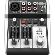Mesa De Som Xenyx 302usb Behringer/ Interface