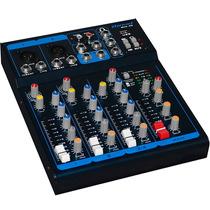 Mesa De Som Com Usb E Phantom Power Oneal Omx40