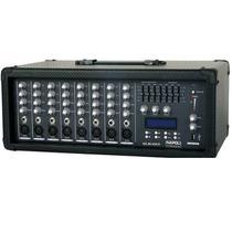 Mesa Amplificada/cabecote 8 Canais 5.000 Watts Napoli Mc8300