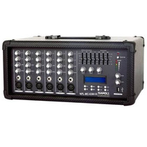 Mesa Amplificada/cabecote 6 Canais 4.000 Watts Napoli Mc6300