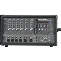 Mesa De Som Amplificada Profissional Phonic Powerpod 620