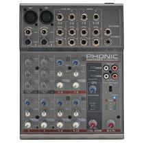Mesa/mixer Phonic Am105fx C/ Efeitos - Ms0034