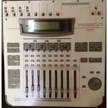Mesa De Som Digital Fostex Vm200 16 Canais Com Saidas Adat