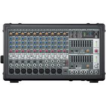 Mesa De Som Amplificada Behringer Pmp2000 Mixer Europower