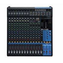 Mesa De Som Yamaha Mg16xu Com Efeito Spx, Frete Gratis