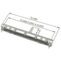 Potenciometro Fader 10kx2 P/ Mesa De Som Behringer Ub1832fx