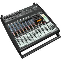 Mixer Mesa De Som Amplificado 12 Canais Pmp500 Behriger