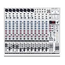 Mesa De Som Mixer 12 Canais Eurorack Ub2222fx-pro Behringer
